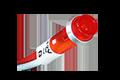 12Vdc red pilot LED
